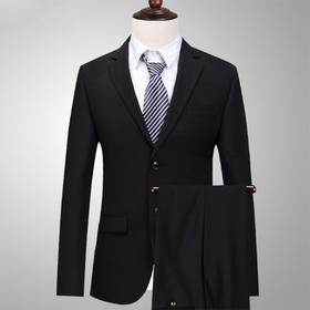 男神价!新款西服套装男三件套韩版正装职业休闲西装新郎结婚礼服