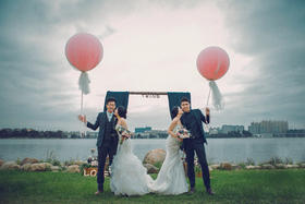 M2M真实婚礼摄影---双胞胎婚礼