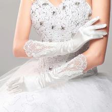 秋冬季新款婚纱长款手套蕾丝韩式全指服装配饰