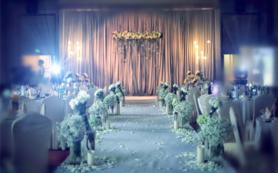 优惠——轻奢高级灰全鲜花婚礼
