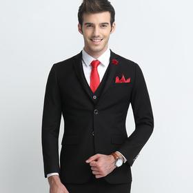 两件套职业西装 四季修身新郎结婚礼服