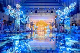 创意蓝色主题婚礼『普罗旺斯婚礼出品』晒出你的承诺
