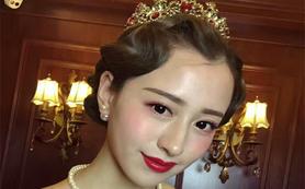 【童颜系】明星美妆新娘全新设计3个妆面+2套礼服