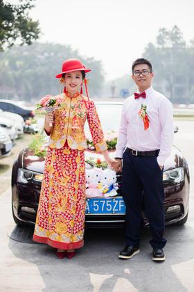 广州番禺祈新邨 四海一品 婚礼跟拍