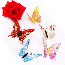 冰箱贴婚房新房布置仿真蝴蝶饰品婚庆创意磁铁冰箱贴