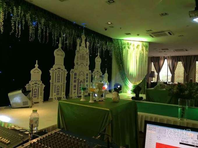 爱尚国际婚礼主题会馆(军中绿花)军旅主题婚礼