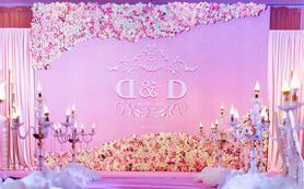 超值场地布置套餐《粉色花墙系列》