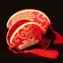 中式喜糖盒子中国风喜糖袋个性绣花锦缎零钱包结婚庆用品K245