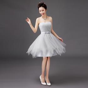 春礼服短伴娘团短款结婚伴娘服姐妹裙演出小礼服伴娘31