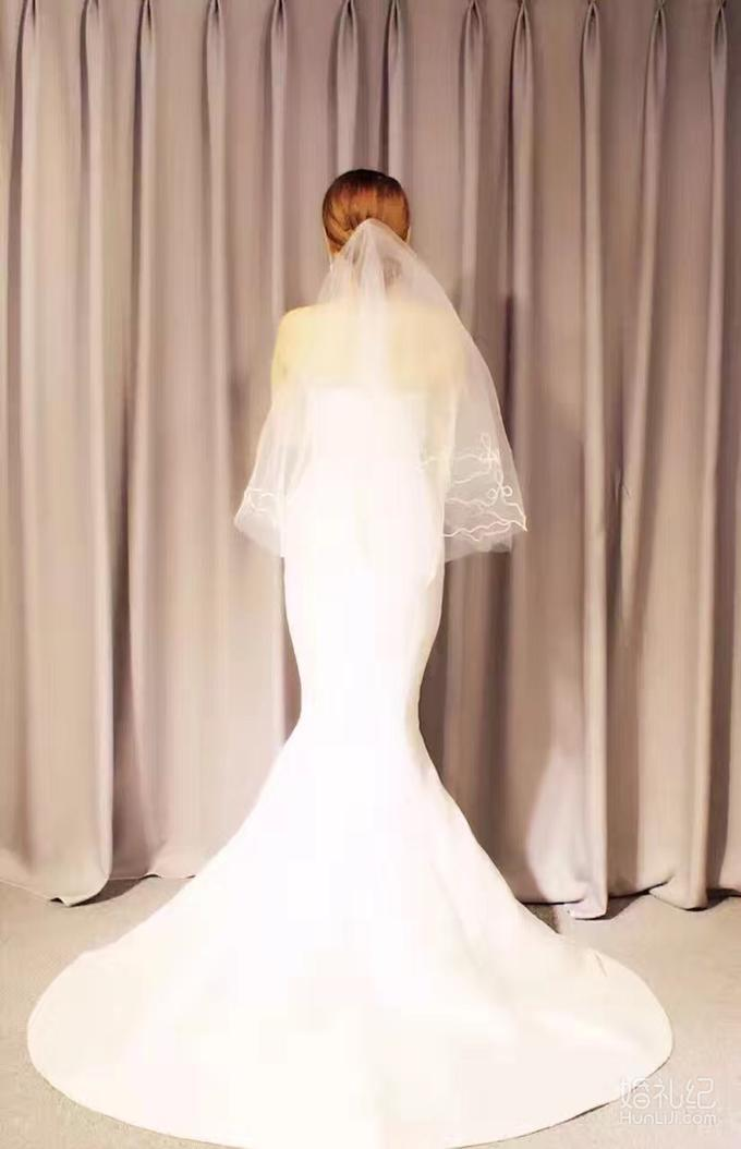 【愫婚纱礼服】大气欧式仪式纱+出门纱+伴娘服