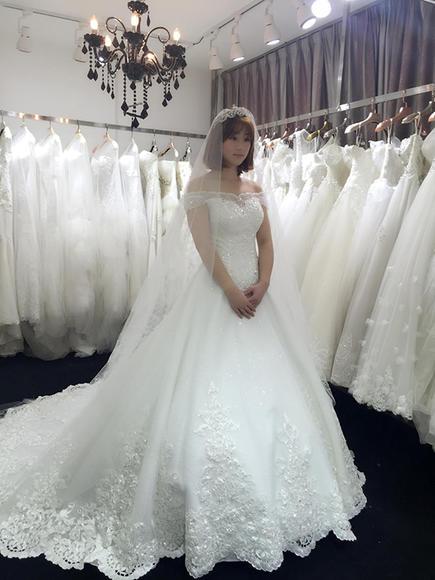 LaRosa 伊莎婚纱礼服——新娘试纱照