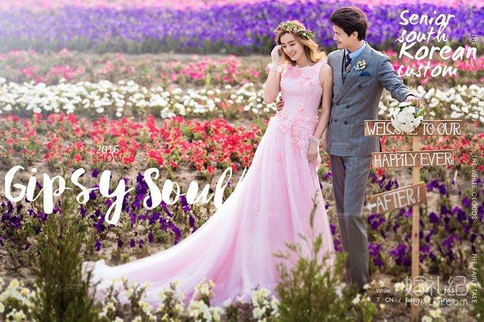 杭州n2视觉婚纱摄影【梦幻花园】婚纱摄影效果图【纪