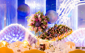 【artisan婚礼匠】紫蓝色星空浪漫创意婚礼