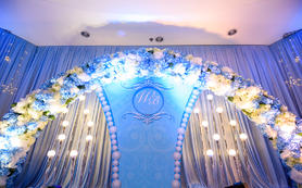 蓝色之梦  清新婚礼 浪漫婚礼  西式婚礼