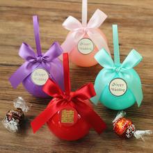 花半里 喜糖盒结婚创意喜糖盒子欧式婚礼圆球糖果盒子婚庆用品