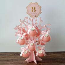 花半里 结婚喜糖盒创意圆球喜糖盒爱情树糖果盒