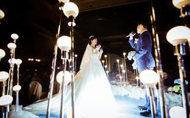 蓝色之恋 西式婚礼 唯美浪漫的婚礼 蓝色婚礼