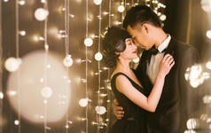 【蔷薇图片社】韩式唯美婚纱棚拍