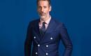 明星同款-蓝色传说双排扣西装