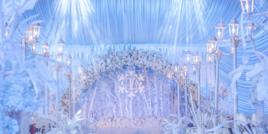 【冰雪奇缘】冬天必不可少的婚礼主题