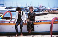 巴厘岛『吉利码头+复古摩托车+夕阳沙滩+街拍』