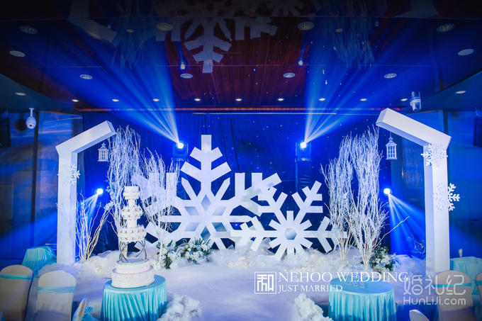 「念和婚礼」《Dreamland》 冰雪主题婚礼