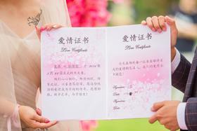 【邬画廊婚礼摄影】除了美还要有婚礼的气氛