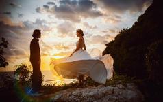 巴厘岛『美乐思海岸+吉利码头+水明漾沙滩落日』