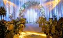 【雨薇婚礼】暖心 灯光森系婚礼 丰满鲜花绿植