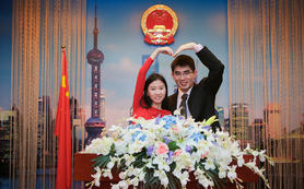 婚礼前期,领证跟拍,贴心拍摄