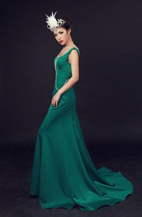安吉莉娜@气质修身优雅的晚礼服