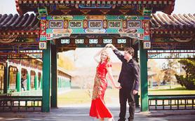 KINGKONG晴空情侣订婚拍摄