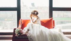 你穿哪款婚纱最显瘦?小编喊你来晒图领大奖!