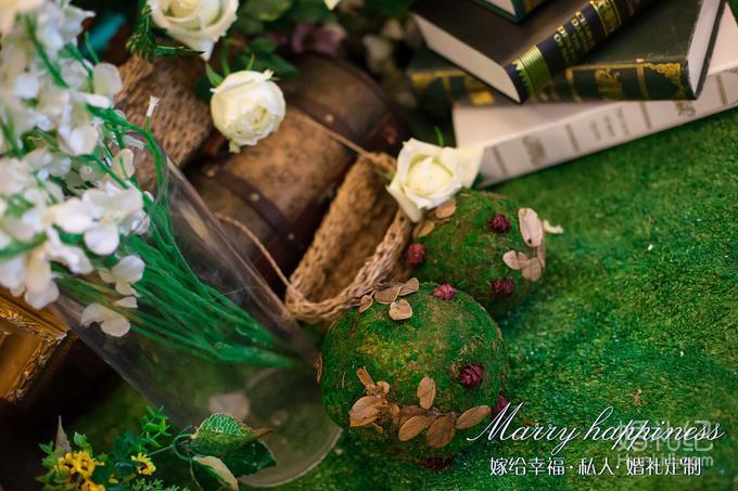 【嫁给幸福】森系风格--白绿清新色系