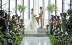 乐惟海外婚礼重庆店,北海道函馆爱沐教堂婚礼