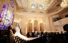乐惟海外婚礼重庆店,北海道丽拉贝尔教堂婚礼