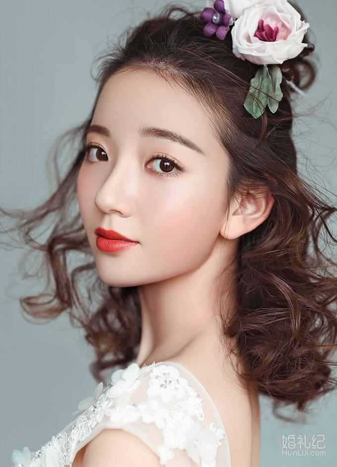 【尚秀造型】首席化妆师Ada全天跟妆 送亲友妆
