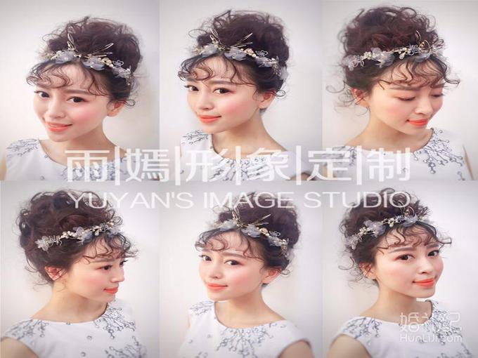 雨嫣美妆特惠跟妆+秀和+主纱+敬酒