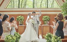 那须高原森之教堂婚礼,乐惟海外婚礼重庆店