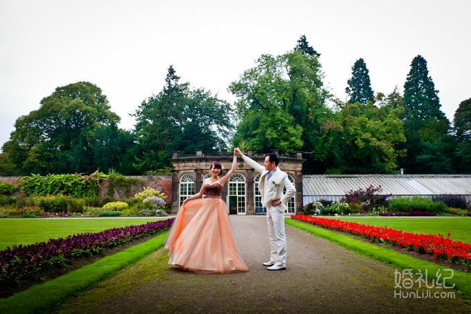 英国海克利夫城堡婚礼,乐惟海外婚礼重庆店