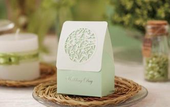 春雨喜糖盒(购喜糖,送糖盒,免费装盒)