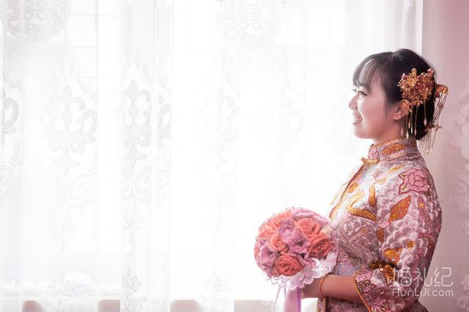 服装-唐制汉式婚礼-上午迎亲龙凤褂