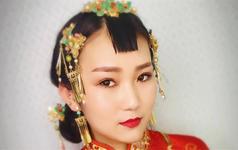 资深化妆师中式复古新娘全天跟妆免费送伴娘妆一位