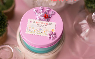 皇冠创意喜糖盒(购喜糖,送糖盒,免费装盒)
