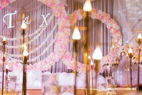 【婚礼鲜花布置】同心圆~花好月圆~圆圆满满~