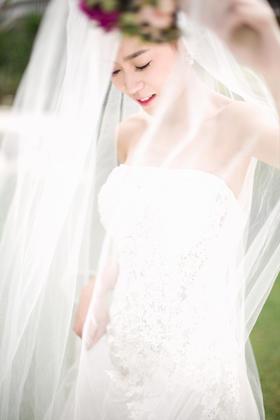 欧式夜景婚纱照