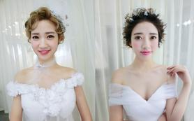ESONE首席化妆师武汉市三环内上门新娘早妆一次