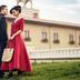 轻奢欧式建筑婚纱摄影