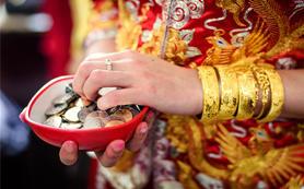 中式婚礼 红金婚礼 中式传统 复古 红色婚礼主题