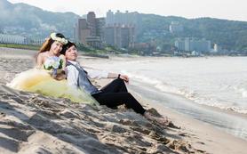 台湾垦丁夏都沙滩婚礼,乐惟海外婚礼重庆店